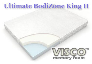 The Ultimate BodiZone King II Memory Foam Mattress